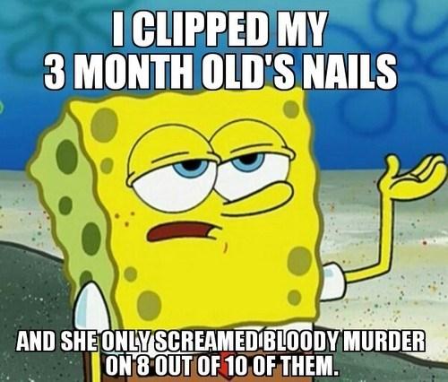 Babies SpongeBob SquarePants parenting Memes funny - 7740881920