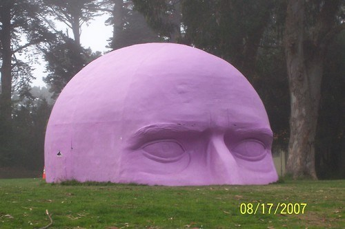 wtf man statue purple funny - 7741030400