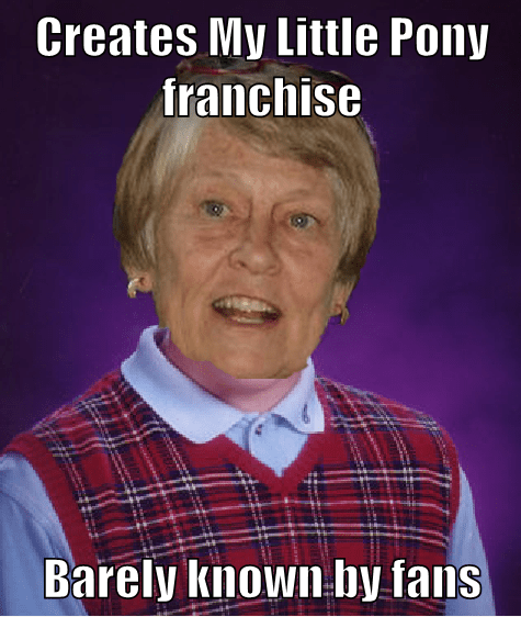 my little pony,bonnie,bad luck brian,Memes