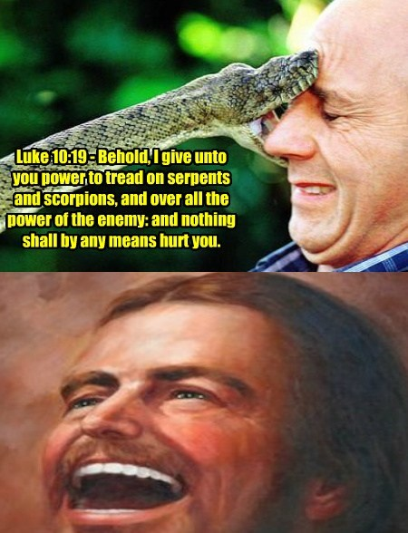 jokes bible snakes funny