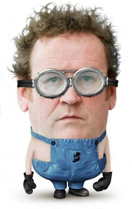 colm meaney,minions,Despicable Me 2,Star Trek