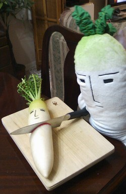 vegetables wtf knives daikon funny