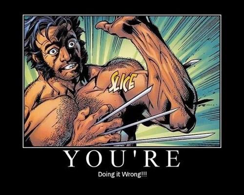 comics x men claws wolverine funny - 7742631680