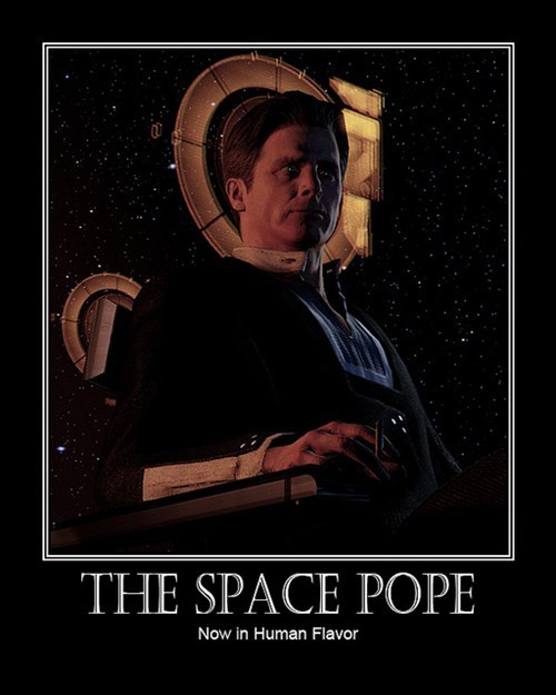illusive man space pope mass effect 2 funny - 7742635008