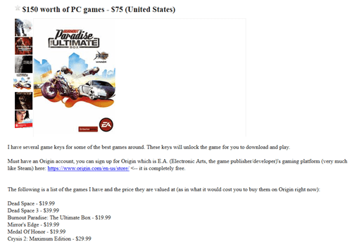 charity humble bundle gamers craiglist you've got to be kidding me - 7742645248