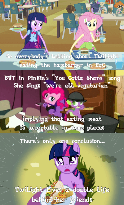 twilight sparkle comics double standards - 7742648320