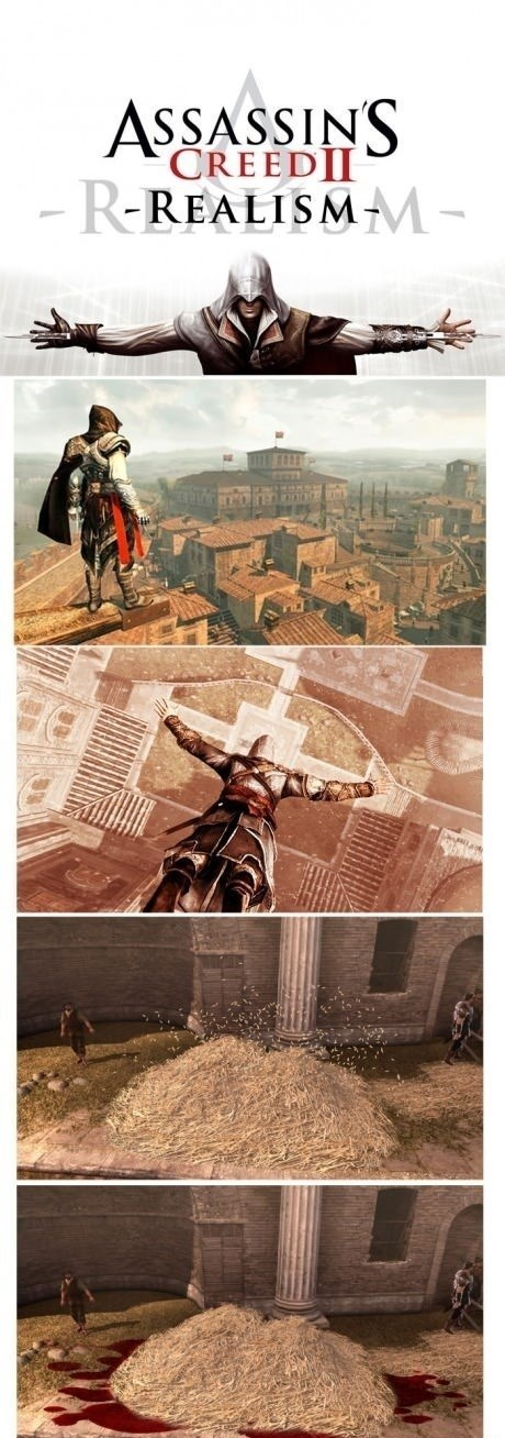 realism assassins creed video game logic - 7742650368