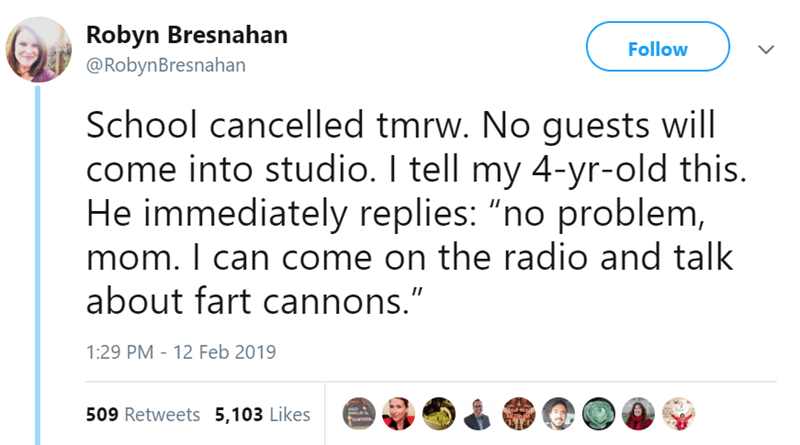 fart cannon radio kids funny tweets fart - 7742725