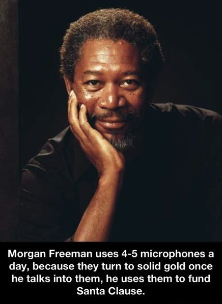 trufax Morgan Freeman - 7742813440