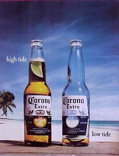beer low high tide advertisements funny - 7742902784