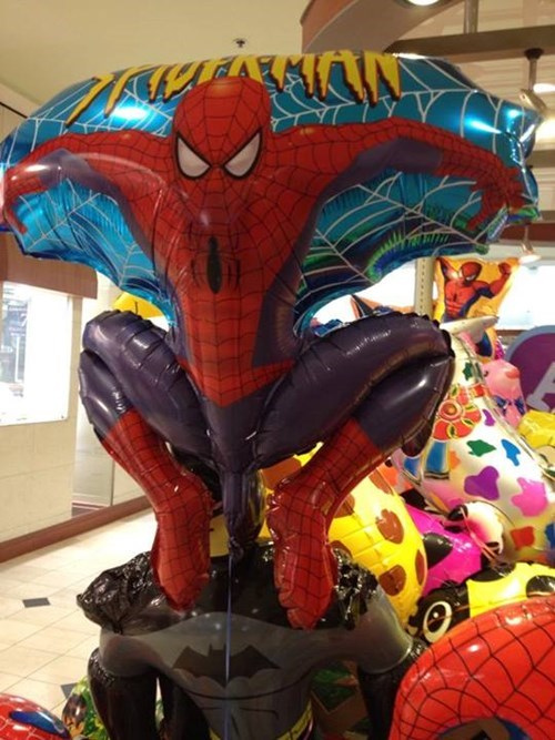 Spider-Man accidental sexy Balloons funny - 7742927872