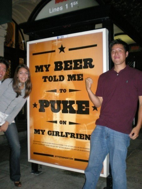 beer signs advertisements funny - 7742936064