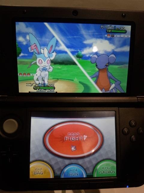 sylveon 3DS pokemon game show pokemon x/y - 7744685824