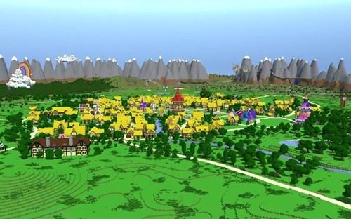 ponyville minecraft - 7745326336