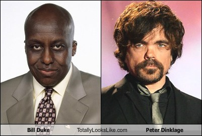 Bill Duke Totally Looks Like Peter Dinklage