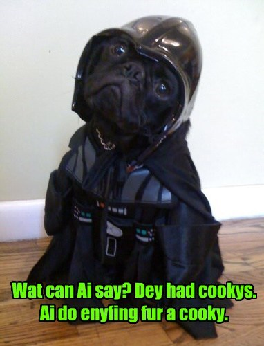 star wars,cookies,the dark side,funny,darth vader