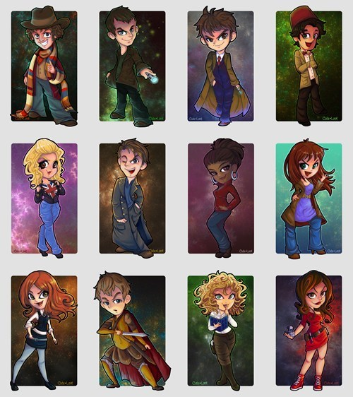 classic who Fan Art doctor who chibi - 7745873152