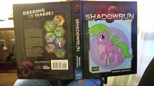 crossover,my little pony,shadowrun