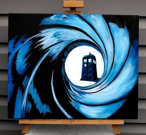 art,Fan Art,for sale,007,doctor who