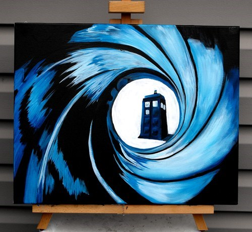art Fan Art for sale 007 doctor who - 7746070272