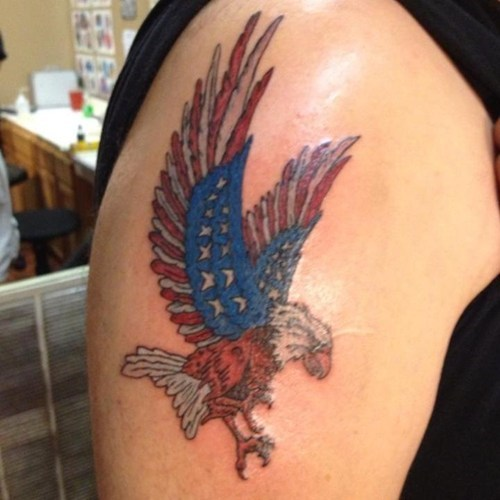 eagles tattoos america funny g rated Ugliest Tattoos - 7746157824