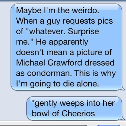 forever alone text funny - 7746169088