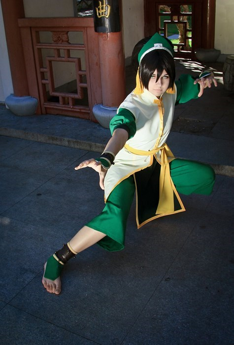 cosplay toph beifong Avatar the Last Airbender cartoons - 7746304768