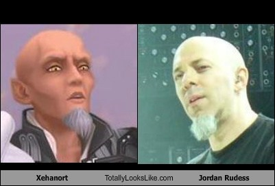 xehanort,totally looks like,Jordan Rudess,beards,funny