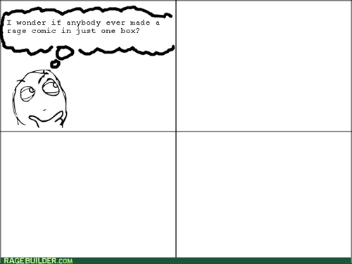 making rage comics,one-panel rage comics