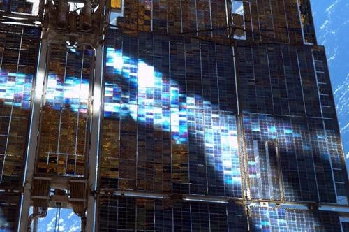 awesome stained glass science solar array space - 7746441984