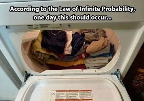 infinite probablitlity quantum mechanics science funny - 7746446592