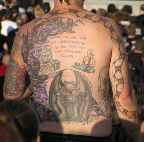 wtf tattoos snakes funny - 7746458624