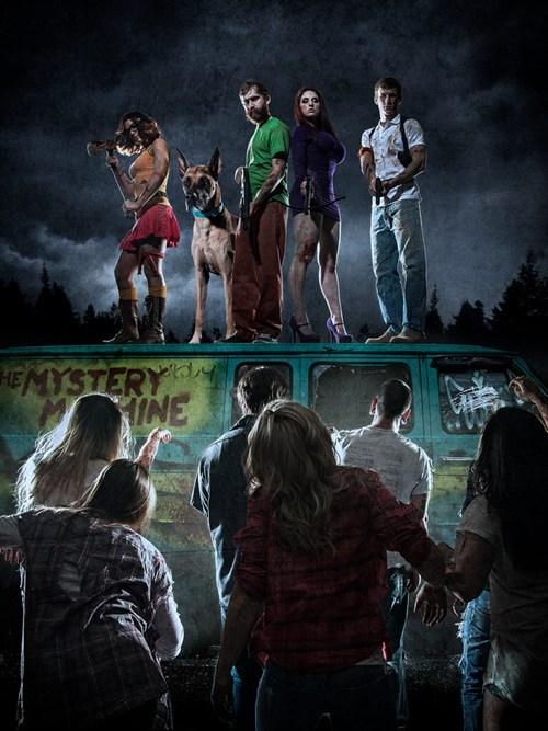 scooby doo cosplay zombie - 7746534656