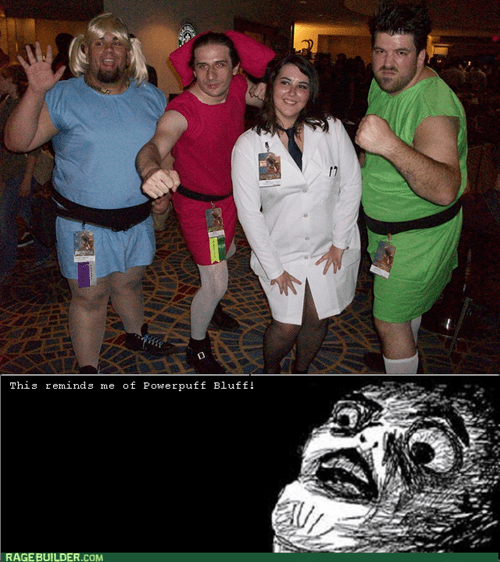 powerpuff bluff,cosplay