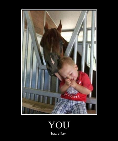 wtf kids eww human horses funny - 7748035840
