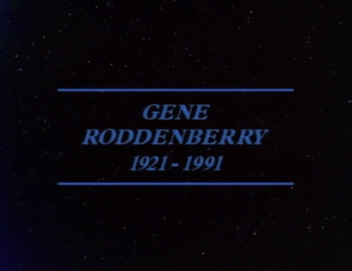 gene roddenberry Star Trek rip memorium - 7748349184