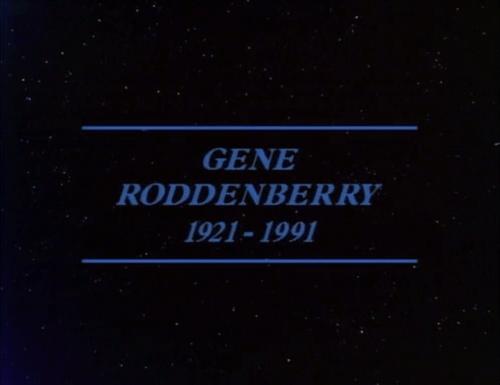 gene roddenberry Star Trek rip memorium - 7748349184