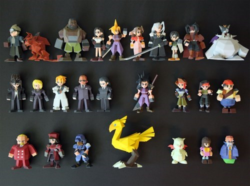 final fantasy Video Game Coverage 3D printing - 7748352000