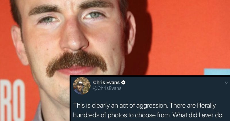 twitter news marvel captain america social media chris evans reaction funny - 7748357