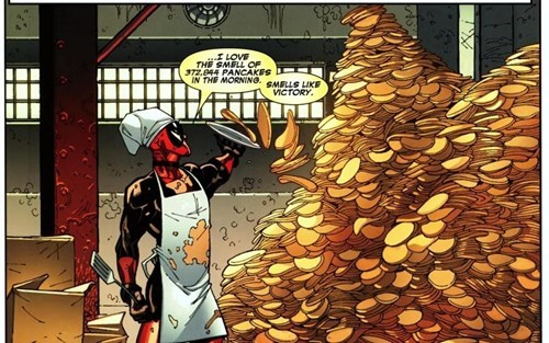 marvel deadpool off the page - 7748434176