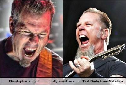 James Hetfield Christopher Knight totally looks like beards funny - 7748511488