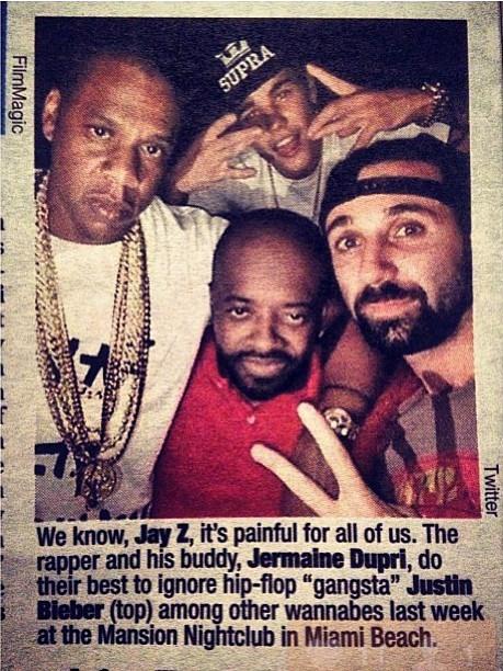 JB Jay Z photo bomb