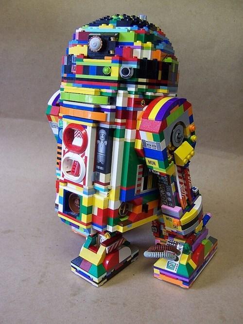 r2d2 star wars lego - 7749012992