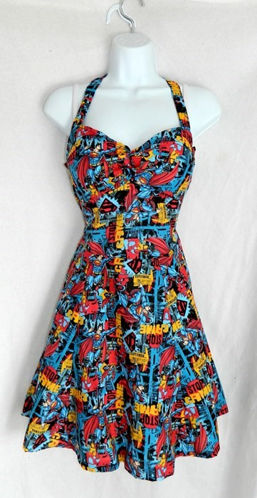 dresses DC for sale clothes superman - 7749091840