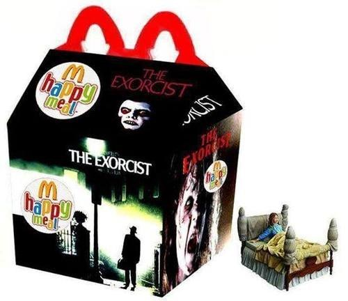 wtf McDonald's the exorcist funny - 7749136384