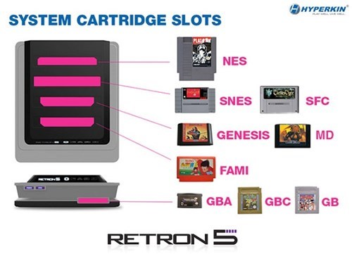 retro retron 5 video games consoles - 7749162496