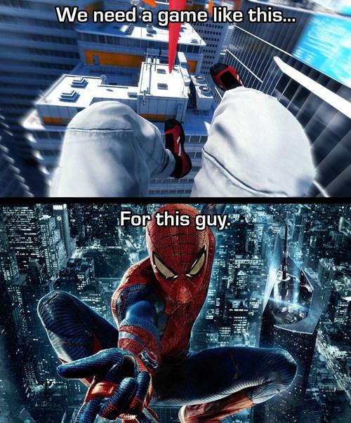 Spider-Man mirrors edge - 7749164800