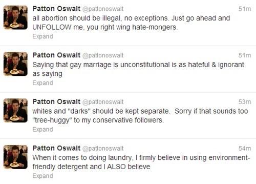 twitter Patton Oswalt trolling prank funny - 7749286912