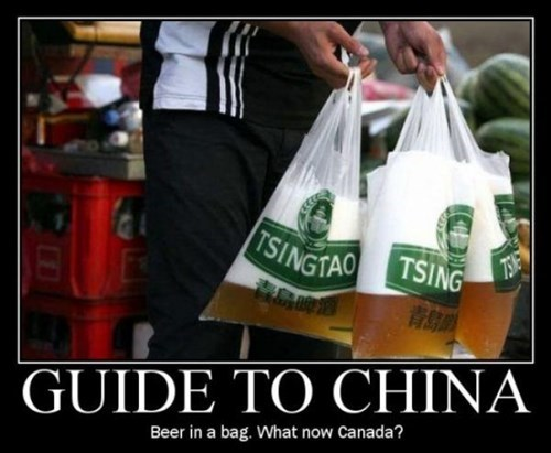 Canada beer bags funny - 7749341440