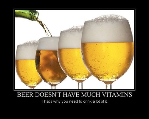 beer healthy wtf vitamins funny - 7749345280